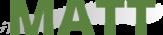 Website Logo - I Am Matt Holland - It Says MATT